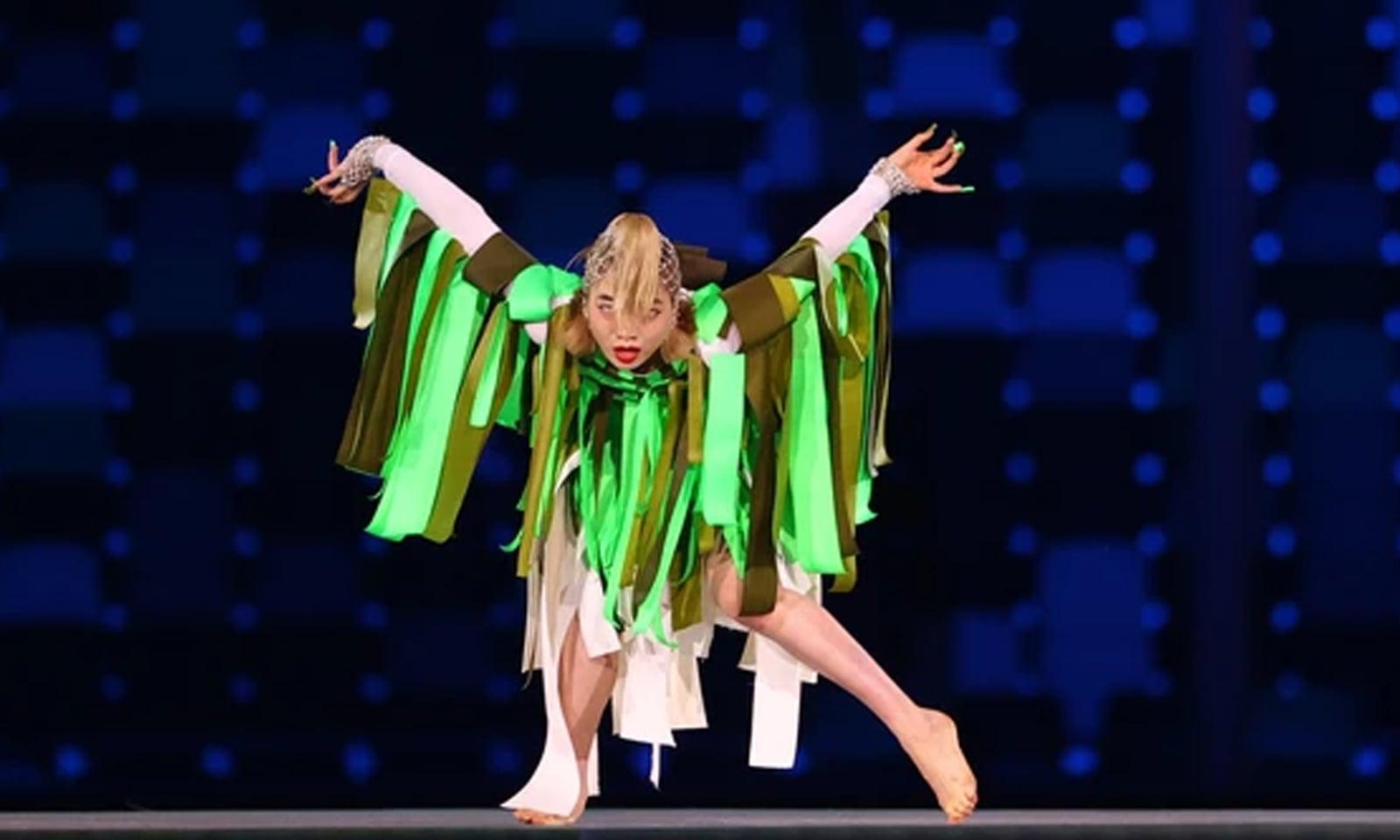 ٹوکیو میں اولمپکس 2020 کے اختتام کی رنگارنگ تقریب منعقد ہوئی—فوٹو:رائٹرز