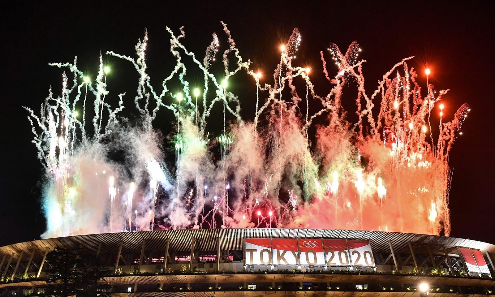 ٹوکیو اولمپکس 2020 کورونا کے باعث ایک سال کی تاخیر سے منعقد ہوئے—فوٹو: اے ایف پی