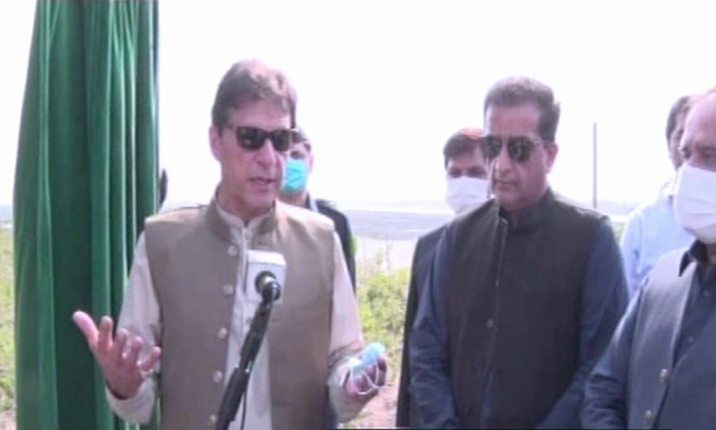 Prime Minister Imran Khan regrets only 640 million trees were planted across Pakistan from its inception till 2013, while one billion trees were planted across the KP in just five years between 2013 and 2018. — DawnNewsTV
