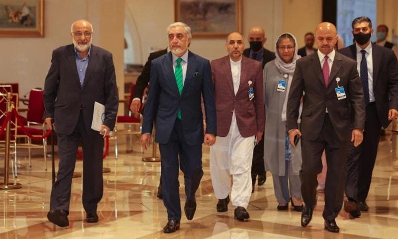 دوحہ: افغانستان پر اقوام متحدہ، پاکستان سمیت دیگر ممالک کے مذاکرات شروع