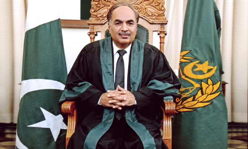 This file photo shows Sindh High Court Chief Justice Ahmed Ali M. Sheikh. — Photo courtesy SHC website/File
