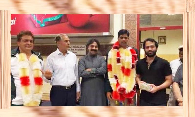 وقار ذکا نے ایتھلیٹ ارشد ندیم کو 10 لاکھ روپے انعام دے دیا