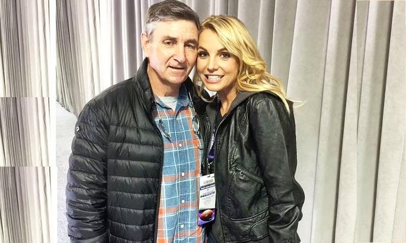 جیمز اسپیئرز گزشتہ 13 سال سے بیٹی کے قانونی 'سرپرست' ہیں —فائل فوٹو: انسٹاگرام