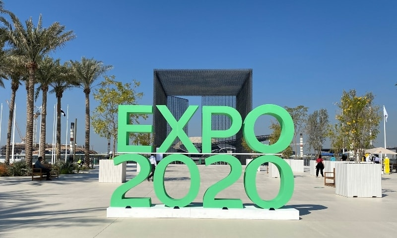 The sign of Dubai Expo 2020 is seen at the entrance of the site in Dubai, United Arab Emirates, January 16, 2021. — Reuters/File