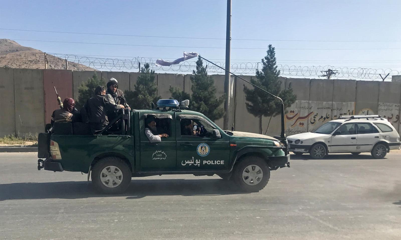 طالبان گزشتہ روز دارالحکومت کابل میں داخل ہوئے تھے— فوٹو: رائٹرز