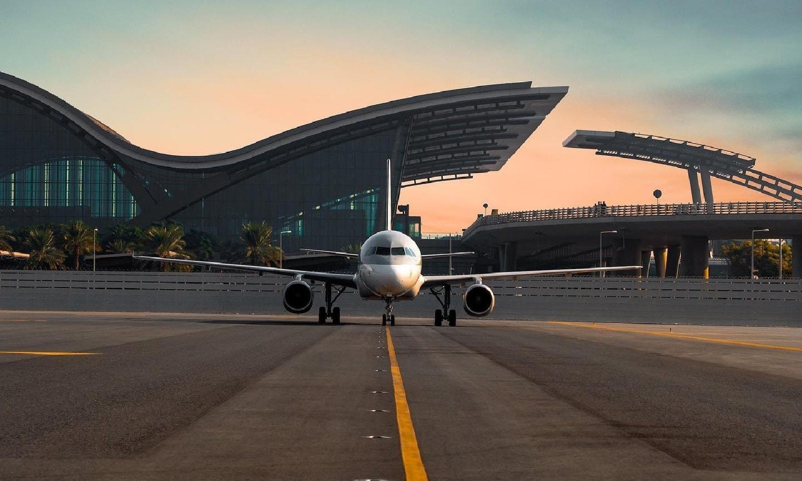 فوٹو بشکریہ حماد انٹرنیشنل ایئرپورٹ فیس بک پیج