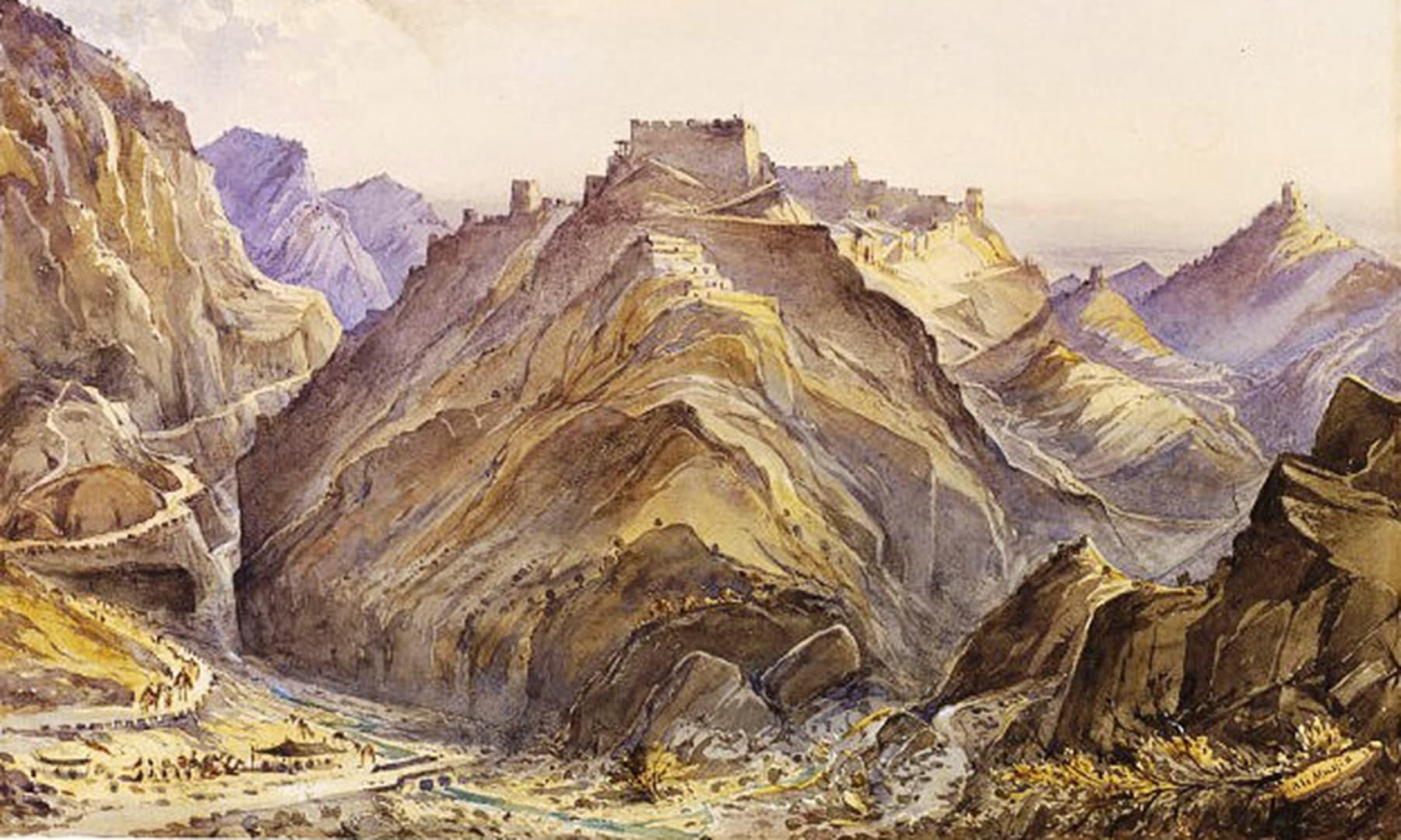 میر مسجدی کا قلعہ