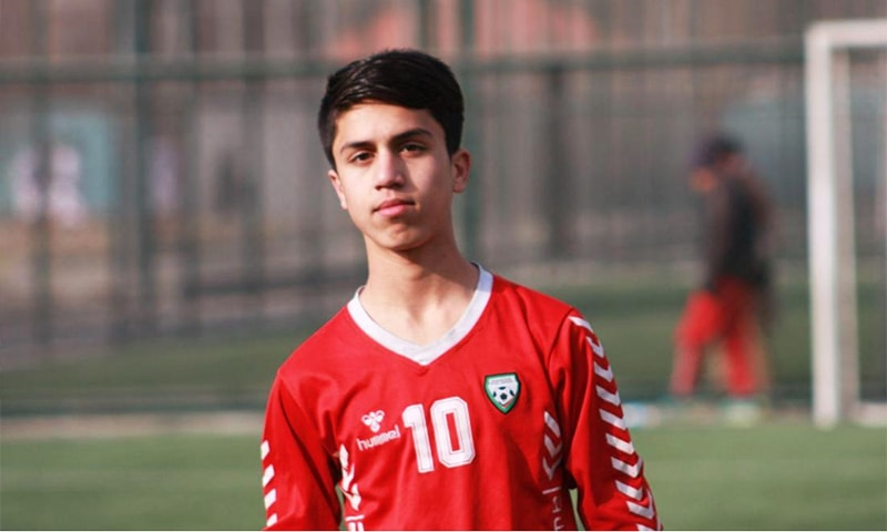 17-year-old Zaki Anwari fell to his death after trying to cling to a US plane airlifting people out of Kabul. — Photo: Twitter
