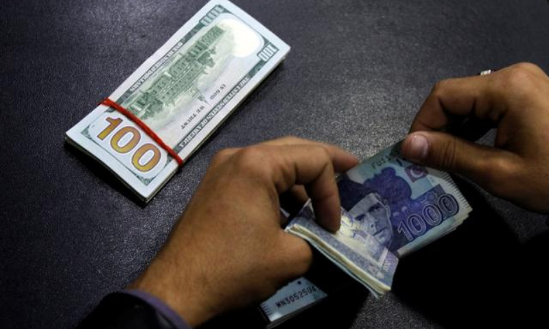 The data released by the State Bank of Pakistan (SBP) on Friday showed that the country's current account had been in deficit since December 2020. — Reuters/File