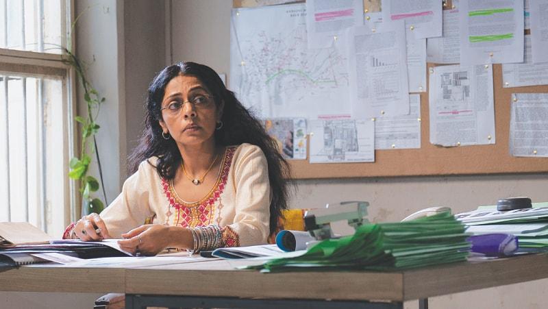 Indu Sharma as Perween Rahman in Into Dust