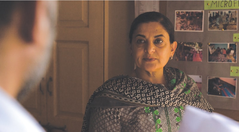 Actress Sudha Bhuchar in Into Dust