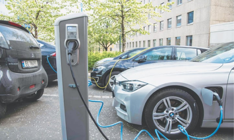 As Pakistan considers adoption of EVs, there is a need to learn some useful lessons from the experience of other countries. — AFP/File
