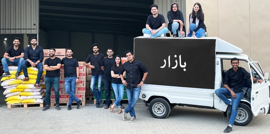 Bazaar was founded in June 2020 with the aim of catering small and medium-sized enterprises in Pakistan. — Photo by author
