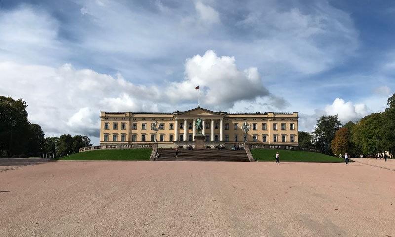 اوسلو کا شاہی محل