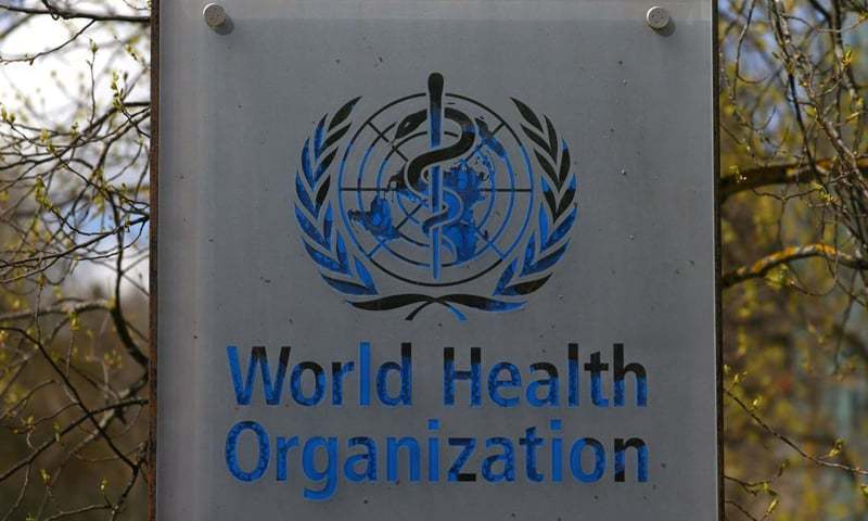 A logo is pictured outside a building of the World Health Organisation during an executive board meeting on update on the Covid-19 outbreak, in Geneva, Switzerland. — Reuters/File