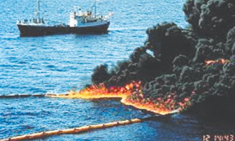 Gulf War oil spill (1991)