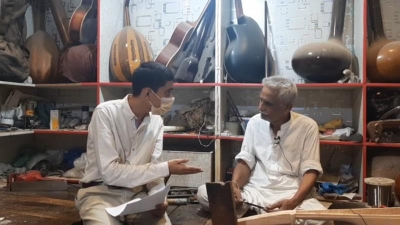 Muneeb in conversation with Ziauddin