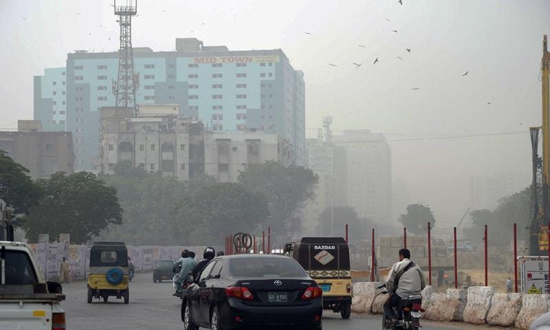 پاکستان میں ہوا کا ناقص معیار 17 کروڑ 30 لاکھ افراد کیلئے خطرہ