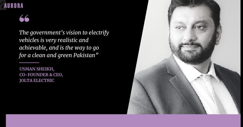 Interview: Usman Sheikh, co-Founder & CEO, Jolta Electric