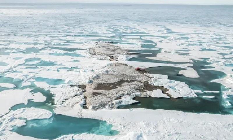دنیا کا انتہائی شمال میں واقع جزیرہ دریافت