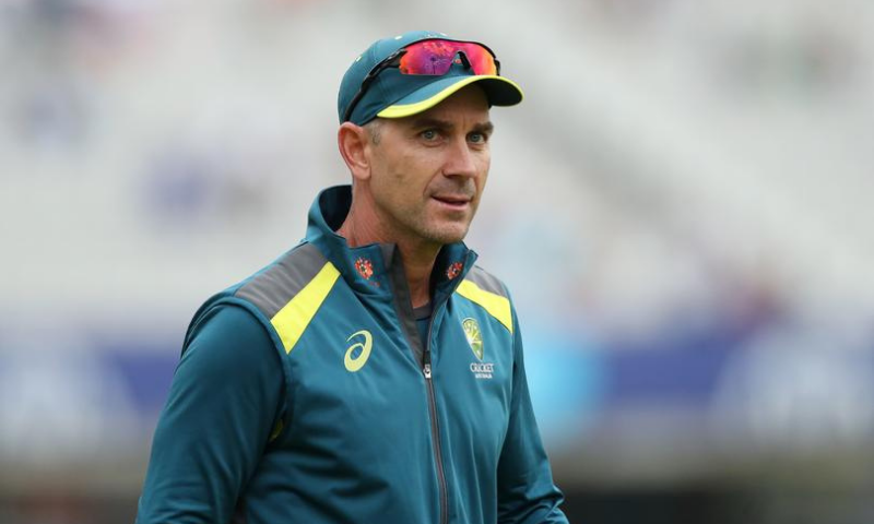 This file photo shows Australian head coach Justin Langer. — Reuters/File