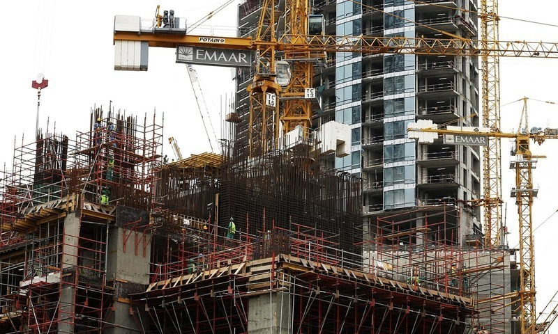 Association of Builders and Developers of Pakistan termed the continuous increase in cement and steel bars prices by the manufacturers a conspiracy against Naya Pakistan Housing Scheme and the national economy. — Reuters/File