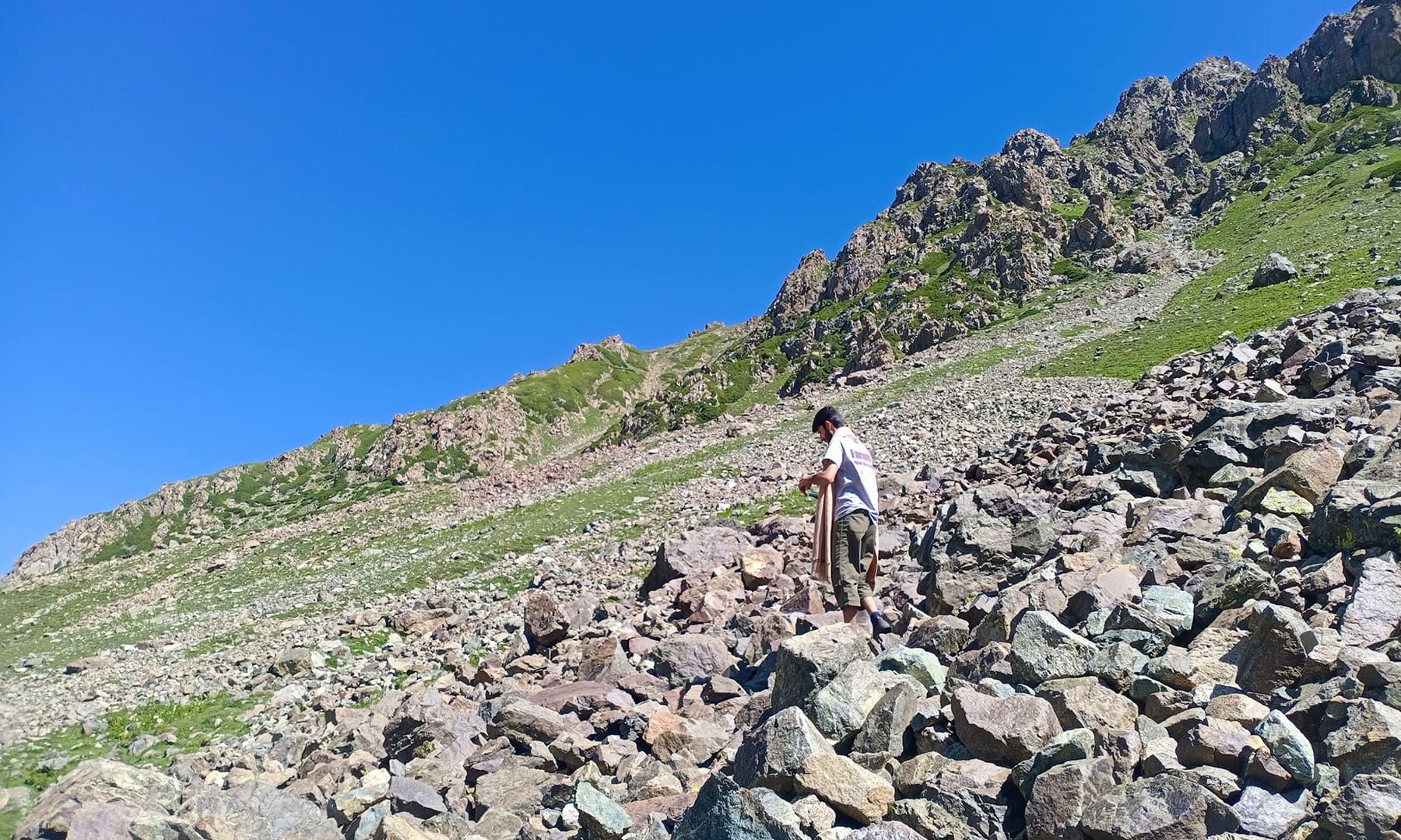 اس چڑھائی چڑھنے کے لیے کوئی بھی تیار نہیں تھا—عظمت اکبر