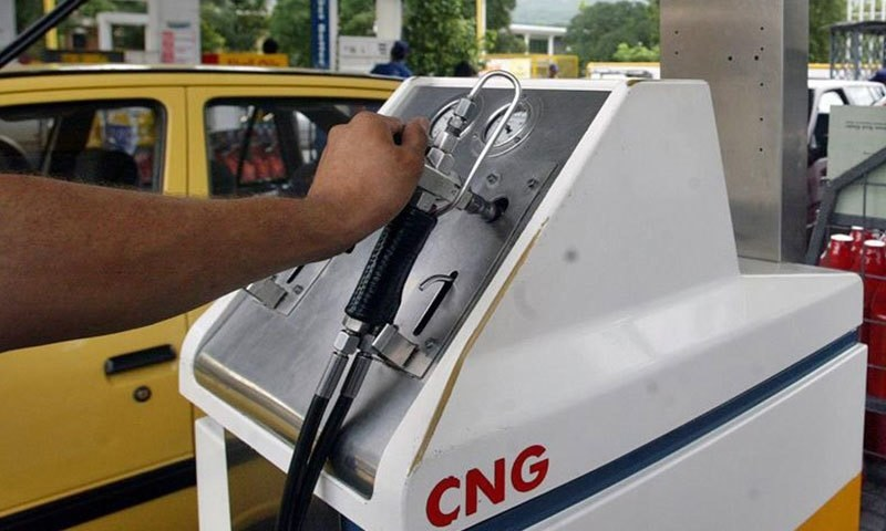 The All Pakistan Compressed Natural Gas Association has said CNG has become costlier by Rs18 and Rs28 compared to a litre of petrol in Sindh and Punjab, respectively. — Dawn/File