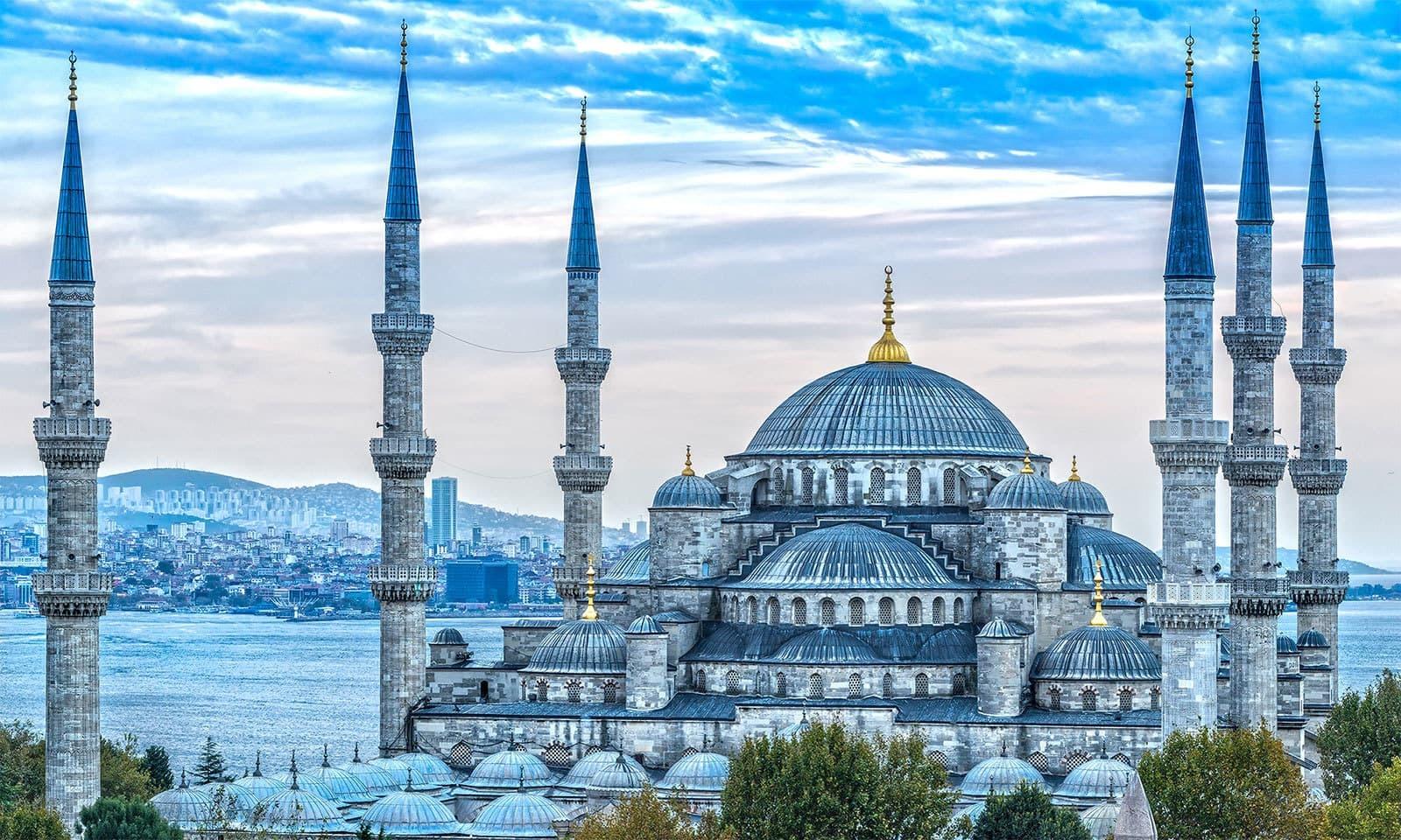 سلطان احمد مسجد، استنبول — شٹر اسٹاک فوٹو