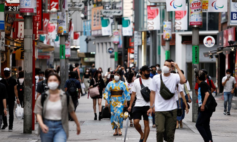 People walk in Shibuya shopping area, during a state of emergency amid the coronavirus outbreak in Tokyo, Japan. — Reuters/File