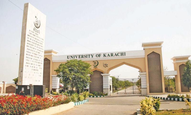 This file photo shows Karachi University. — Online/File