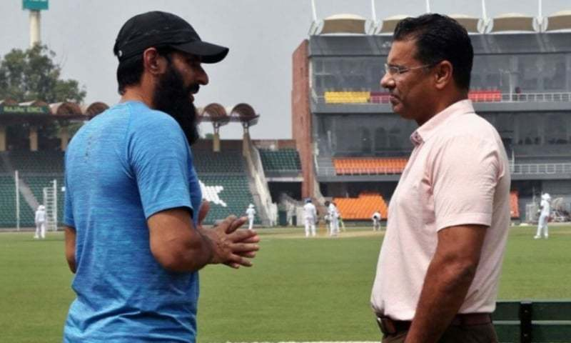 قومی ٹیم کے ہیڈ کوچ مصباح الحق اور باؤلنگ کوچ وقار یونس نے پاکستان کرکٹ بورڈ کو اپنے فیصلوں سے آگاہ کیا: فوٹو: پی سی بی