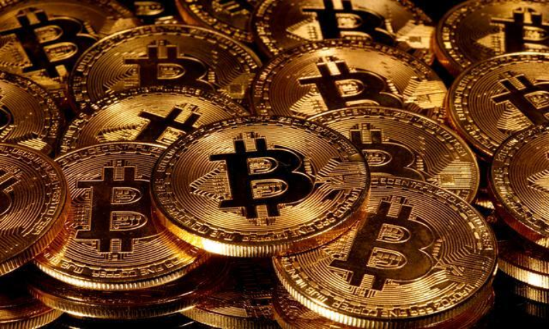 Representations of virtual currency Bitcoin are seen in this picture illustration. — Reuters/File