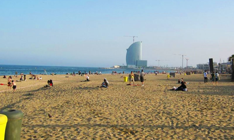 بارسلونا کا ساحل