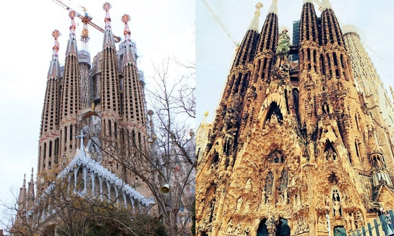 بارسلونا میں 127 برس سے نامکمل کلیسا، کہیں ٹھیکیدار ہمارے ملک کا تو نہیں؟