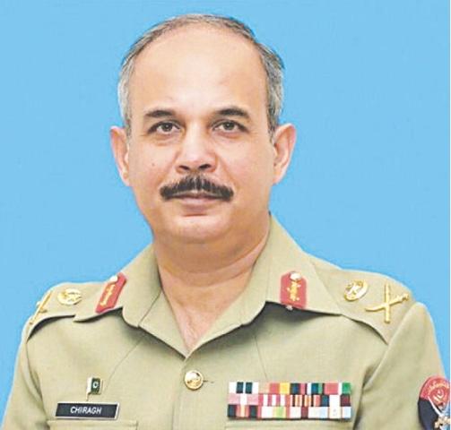 Lt Gen Chiragh Haider