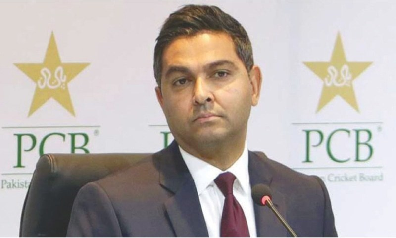 PCB CEO Wasim Khan (pictured) issues a statement rejecting reports of Babar Azam's rumored unhappiness at squad named for T20 World Cup. Photo: AFP/File