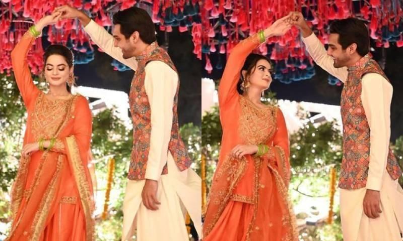 ڈھولکی سے منال خان کی شادی کی تقریبات کا آغاز