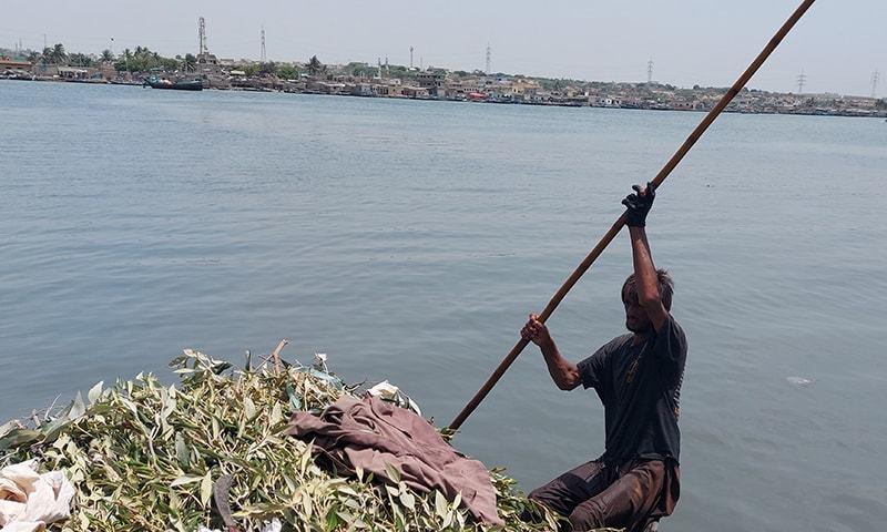 گلوبل وارمنگ سے متاثرہ کراچی کی ساحلی پٹی