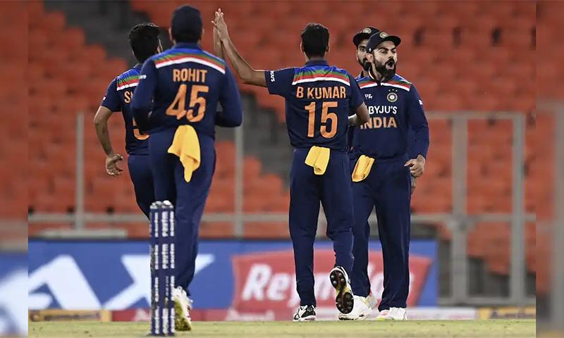 ٹی20 ورلڈ کپ کیلئے بھارتی اسکواڈ کا اعلان، ایشون سمیت پانچ اسپنرز شامل