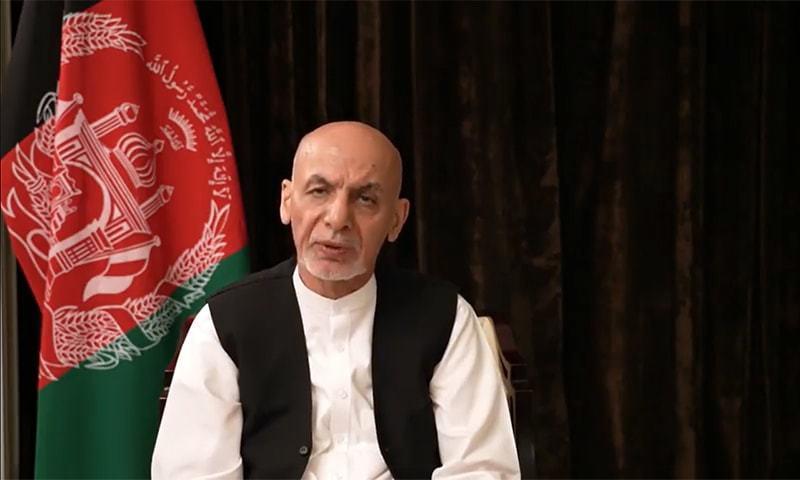 This file photo shows former Afghan president Ashraf Ghani. — Facebook screengrab/File