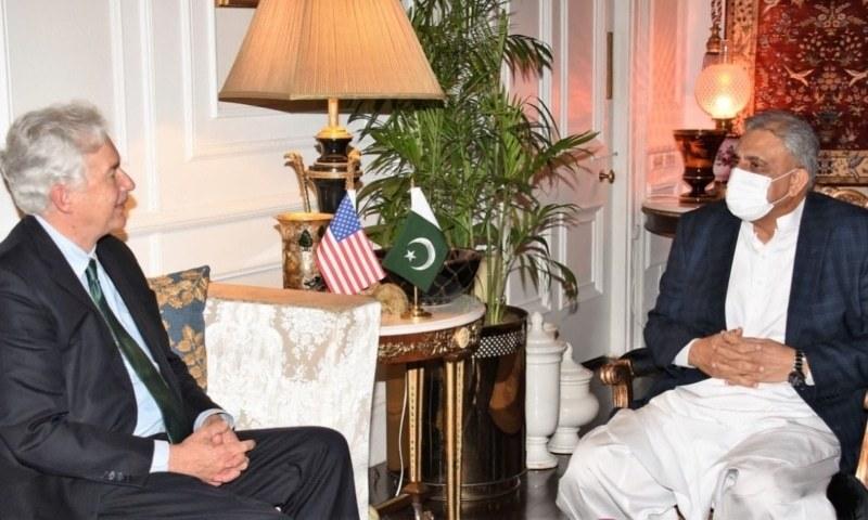 آرمی چیف سے سی آئی اے سربراہ کی ملاقات، افغانستان اور خطے کی صورتحال پر تبادلہ خیال