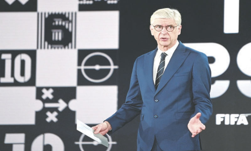 FORMER Arsenal manager Arsene Wenger, FIFA's head of Global Football Development, is fronting the proposals  to double the number of World Cups by holding the tournament every two years.—Reuters