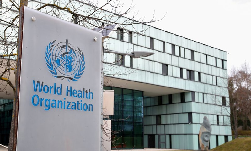 In this file photo, a logo is pictured outside a building of the World Health Organisation during an executive board meeting on update on the coronavirus outbreak, in Geneva, Switzerland. — Reuters/File