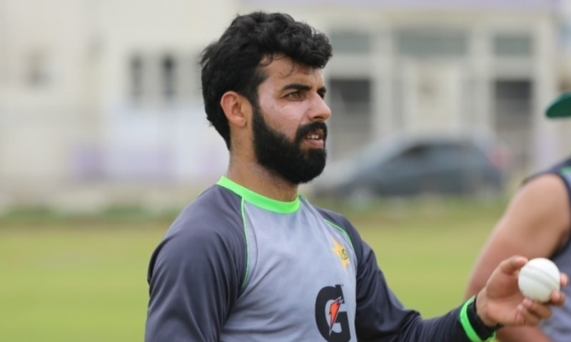 All-rounder Shadab Khan admitted that his own performance has been declining in recent times but said that was mainly due to the injuries he suffered during the course of the time. — Photo courtesy: PCB website