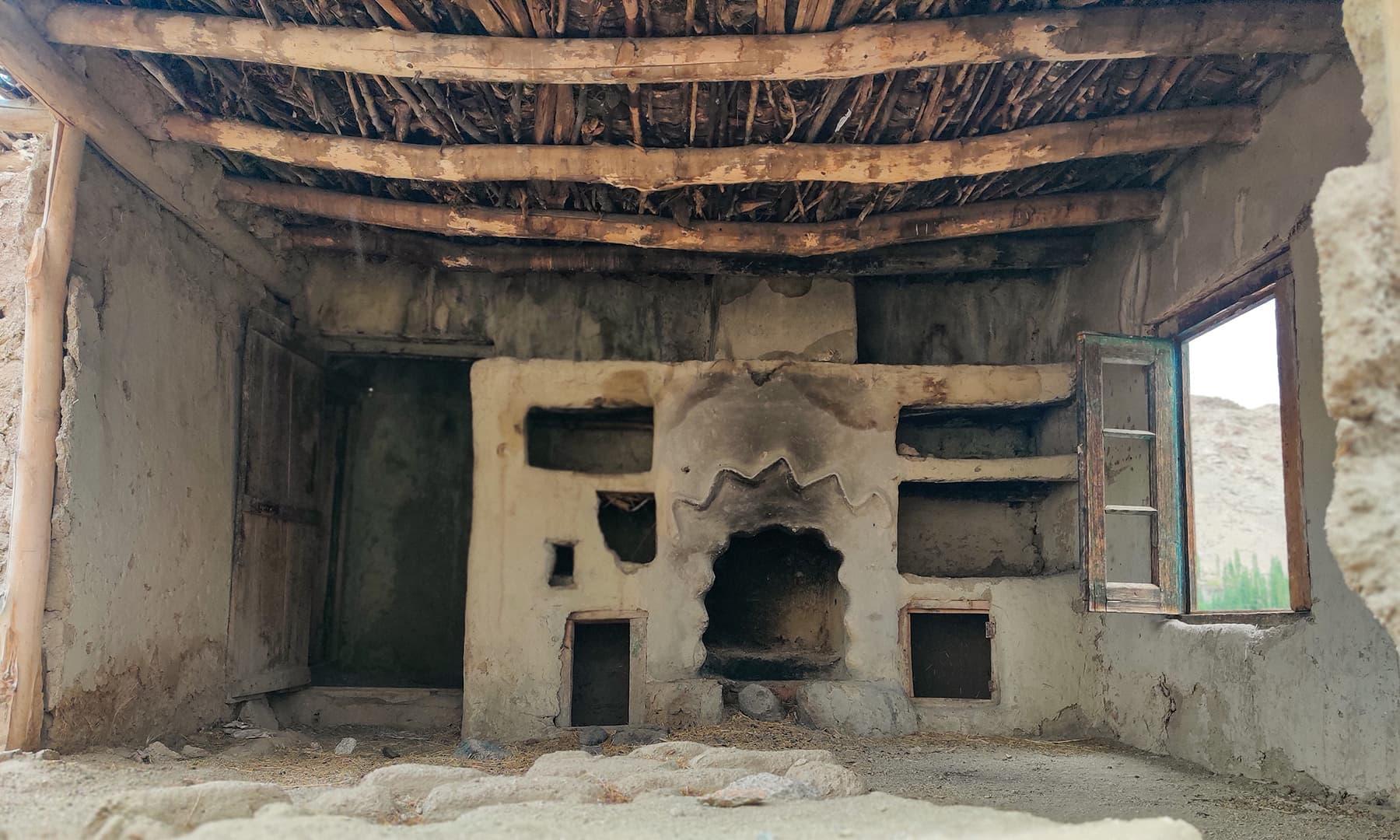 بلتستان کا روایتی باورچی خانہ