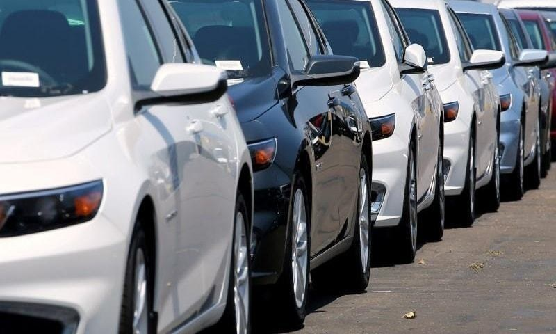 Car sales posting growth of 93 per cent, followed by an increase of 199pc in jeeps in the  first two months of the fiscal year 2021-22. — Reuters/File