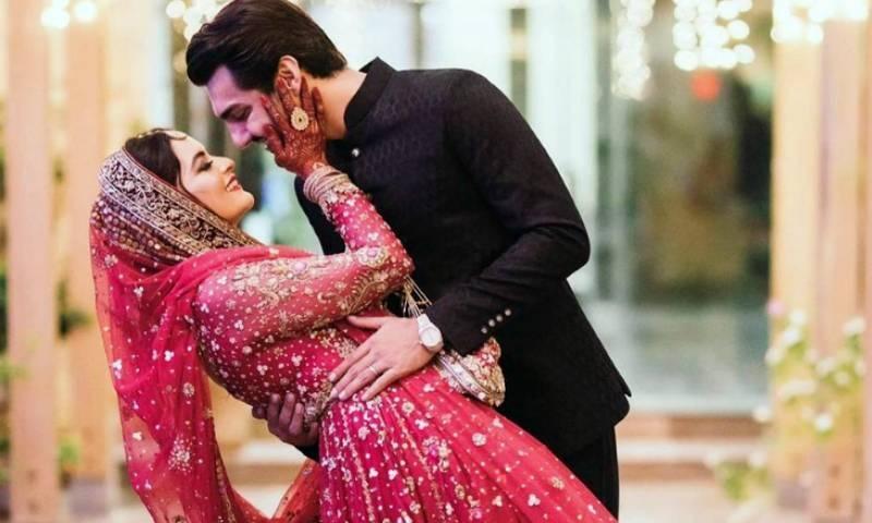 منال خان اور احسن محسن رشتہ ازدواج میں منسلک