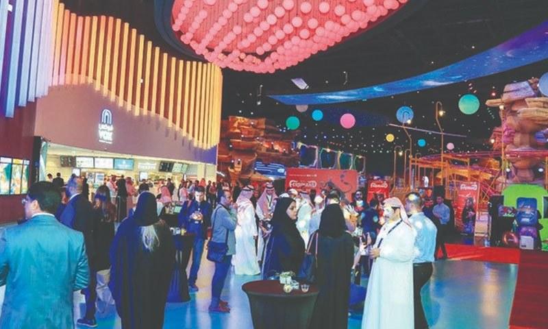 سعودی عرب میں چار سالوں میں 44 سینما کھل گئے