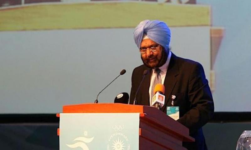 Raja Randhir Singh he was taking over as interim president as the longest serving member of the OCA executive. — AFP/File